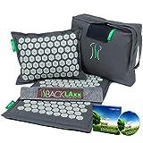 Akupressurmatte: Entspannung für den Rücken, Nacken & Füße. Das Akupressur-Set mit Nadeln um die Verspannungen zu lösen (Matte, Kissen & Tasche)