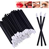 100pcs Einweg Lip Brush Lip Gloss Zauberstäbe Lippenstift Gloss Applikatoren Make-up-Pinsel