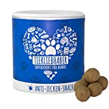 Anti-Zecken-Snack (350g)   Zecken-Schutz-Schild und Zecken-Prävention für Hunde  Komplett Natürlich   Für Welpen geeignet   2 Monatsrationen für Hunde bis 30kg