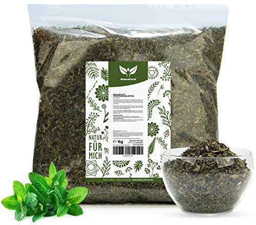 NaturaForte Pfefferminzblätter Tee, geschnitten 1kg | Pfefferminz-Tee Lose | Arzneimittel-Qualität | 100% Natürlich & ohne Zusätze | Getrocknet | Laborgeprüft | Aus Deutschland