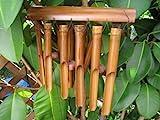 Ca 80cm Windspiel beruhigender Klang Feng Shui Bambus Wind Spiel Klangspiel W6