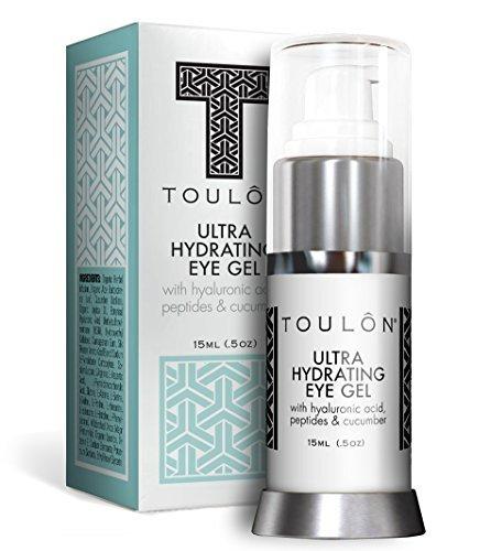 AugenGel - Augencreme reduziert Schwellungen, lässt dunkle Augenringe u. Mudigkeitserscheinungen verblassen, strafft Falten um die Augen, kühlt und erfrischt die Haut. Die beste Anti-Aging-Gel für Männer und Frauen. Naturprodukt aus Aloe Vera & Gurke. 15ml
