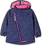 Racoon Baby-Mädchen Jacke Mille Softshelljacke (Wassersäule 5.000), Mehrfarbig Ribbon Blu, 98