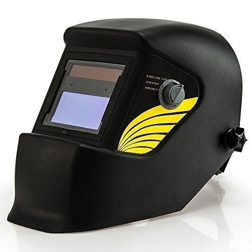 Automatik Schweißhelm  großes Sichtfeld  für alle gängigen Schweißtechniken - Schweißmaske Schweißschirm Solar Schweißschild Schutzhelm