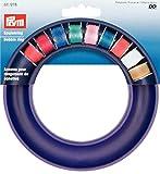 Prym 611978 Nähmaschinen Spulenring Nähmaschinenzubehör, Kunststoff, blau, 13,5 x 13,5 x 2 cm
