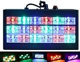 18 LED Strobe Lampe, Latta Alvor Stroboskop Disco Licht Mini Bühnenbeleuchtung RGB/Weiß DJ Strobe Lights für Party Licht (RGB)