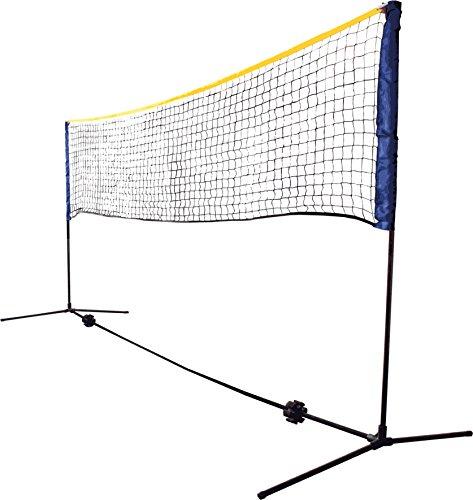 Kombi Netz Set für Badminton, Federball, Streettennis, Kleinfeldtennis, Ball über die Schnur, Peteka, Indiaca, Schildkröt Funsports 970994