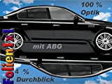 3M FX-ST Profi Auto Tönungsfolie 5 96% schwarz 75 cm x 150 cm