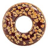 Intex 56262 Luftmatratze Schwimmreifen aufblasbar Chocolate Donut 114 cm