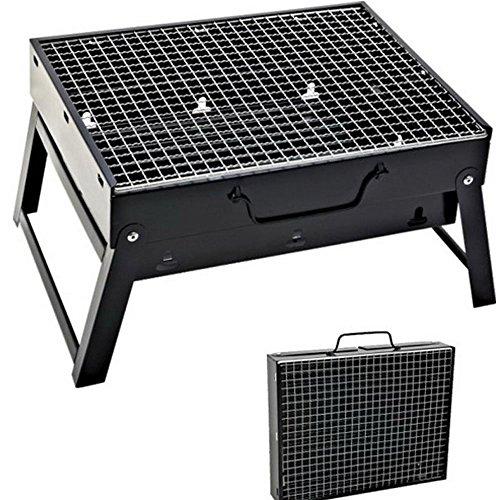 Sunjas BBQ Holzkohlegrill Reisegrill Minigrill Tischgrill Picknick Campinggrill