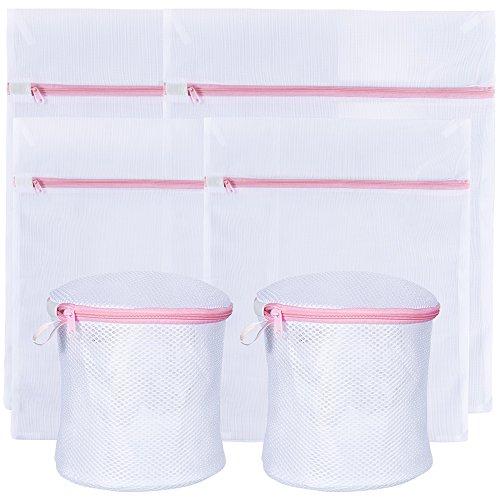 Zacro 6 Stück Wäschesack Wäschebeutel Netzbeutel für Hemd, Strickwaren, Unterwäsche, BH und Dessous, Babysachen.