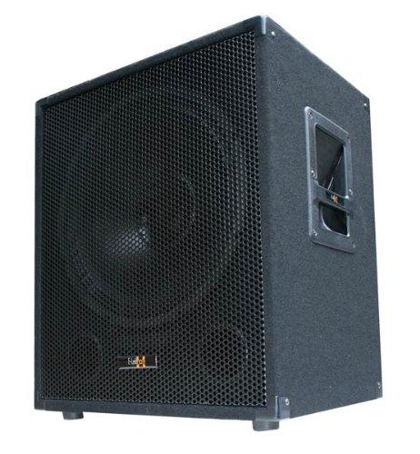 600W DJ PA Subwoofer Box 15' Passiv Bass Lautsprecher - E-Lektron SUB-P38