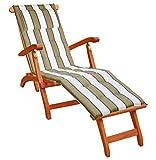 KMH, Deckchair aus Eukalyptusholz