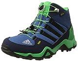adidas Unisex-Kinder Terrex Mid GTX Wanderstiefel, Blau (Azubas/Negbas/verene), 37 1/3 EU