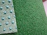Kunstrasen grün (4€/m²) mit Noppen 400 cm breite (350 x 400 cm)