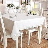 Solide minimalistischen skandinavischen Stil realen slick gewaschenem Leinen Tischdecke 6512-2