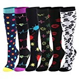 CAMPSNAIL Kompressionsstrümpfe für Damen und Herren Stützstrümpfe Thrombosestrümpfe Medizinisch für Schwangerschaft Sport Flug Anti-Thrombose Socken