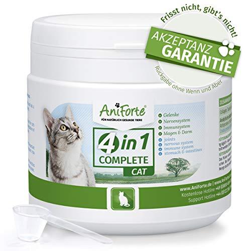 Das Original von AniForte 4in1 Complete Cat 60g, Rundumversorgung für Katzen, Reich an Antioxidantien, Vitaminen und Mineralien - Optimiert Gelenke, Bewegung, Immunsystem & Magen-Darm