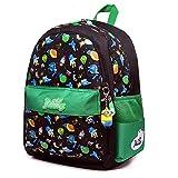 Ergonomischer Schulranzen Mädchen 1-4.Klasse mit Babypuppe,Kindergartentasche Kindergartenrucksack/Mini Backpack,28x17x37cm