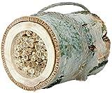 Luxus-Insektenhotels 22615e Insekten-Nisthilfe Wildbienen-Zylinder aus Birkenholz und Schilfrohr