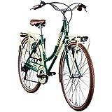 Galano Trekkingrad 700c Damenfahrrad Citybike Damenrad 28' Caledonia Fahrrad (grün/braun, 48 cm)