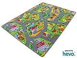 Stadt Land Fluss HEVO Teppich | Kinderteppich | Spielteppich 145x200 cm