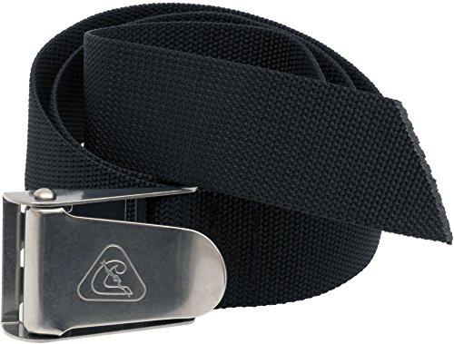 Cressi Unisex Tauchen Bleigürtel Quick-Release, schwarz, TA625000