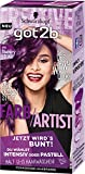 Got2b 094 Blueberry Lila Farb-Artist Haarfarbe, 3er Pack (3 x 80 ml)