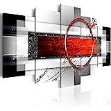 murando - Bilder 200x100 cm - Leinwandbilder - Fertig Aufgespannt - Vlies Leinwand - 5 Teilig - Wandbilder XXL - Kunstdrucke - Wandbild - Abstrakt a-A-0052-b-n
