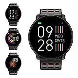 Fitness Armband, LIFEBEE Smartwatch Wasserdicht Smart Watch Fitness Tracker Uhr mit 1.3 Zoll Farbbildschirm, Damen Herren Pulsmesser Schrittzähler Schlaftracker SMS Beachten Sportuhr für Android iOS