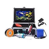 Docooler Nachtsicht Fisch Sucher/Unterwasserfischerei Kamera, 7'TFT LCD Farben Monitor/800TVL Beweglich/30M Kabel(Multi-Sprache,in Deutsch)