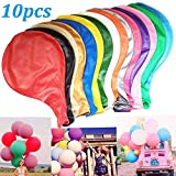 WENTS Luftballons 36-Zoll 10Stück Extra große Ballons - schöne Ballons für die Party, Geburtstag, Hochzeit, Festival Hochzeit Fotografie Eröffnung Hochzeit Feier Szene Layout