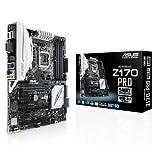 Asus Z170 Pro Mainboard Sockel 1151 (ATX, Intel Z170, 4x DIMM, 6x SATA 6Gb/s, 1x SATA Express, M.2 Schnittstelle)