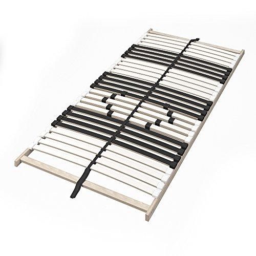 VitaliSpa 7-Zonen-Lattenrost 90x200cm Premium Härtegradverstellung Komfort (Einzeln)