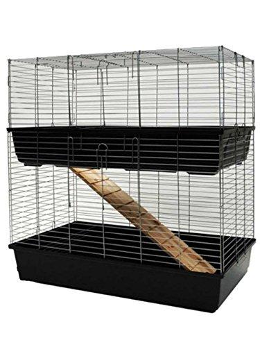 MyPets Nagerkäfig TowerCage Hamsterkäfig Meerschweinchenkäfig zweistöckig Breite 100 x Tiefe 52 x Höhe 100