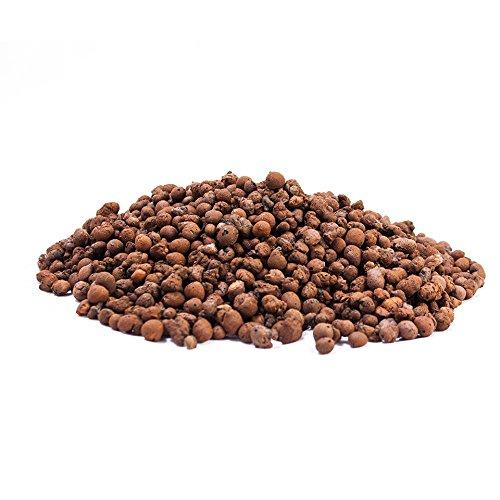 50L Blähton 4-8mm • Hochwertiges Hydrokultur Ton-Granulat Rund & Grob • Perfekt für Topfpflanzen als Pflanzton & Dachbegrünungen oder als Baustoff