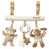 Fehn 160987 Activity-Trapez Rainbow / Stoff-Trapez zum Greifen, Fühlen, Spielen für Zuhause oder unterwegs / Für Babys und Kleinkinder ab 0+ Monaten / Maße: 27cm lang