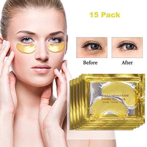 Augen Patches Augenpads Feuchtigkeitsspendende Anti Aging Pads Augenbehandlung Maske Eye Care Mask für geschwollene Augen Behandlung Dark Circle Anti-Falten-Augenpflaster Eye Gel Pads Eye Mask