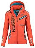 94B45 Geographical Norway Reine Lady Damen Softshell Jacke Corail Gr. M