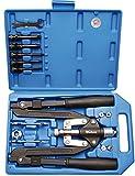 405 BGS Profi-Nietzangen-Set, Langarm, 3,2-6,4 mm