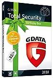 G DATA Total Security 'Birthday Box' für 1 Windows-PC und 2 Android-Geräte / 1 Jahr / Erstklassiger Rundumschutz durch Firewall & Antivirus / Trust in German Sicherheit