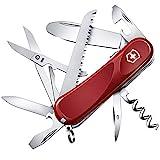 Victorinox Kinder Taschenmesser Junior 03 (15 Funktionen, Runde Feststellklinge, Schere)