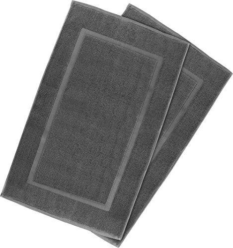 Badvorleger, Badematte - (53 x 86 cm, Grau) von Utopia Towels