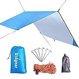 Unigear Hängematte Regenschutz Zeltplanen Tent Tarp, tragbare leichte wasserdichte Camping Shelter Sonnenschutz für Camping Outdoor Travel