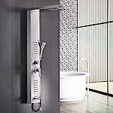 GD Duscharmaturen Regendusche Duscharmaturen Set Duschsysteme Badewanne Wasserfall-Duschwand aus Edelstahl