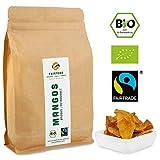 Bio Fairtrade Mangos: Brooks | getrocknet in Streifen (500g)