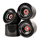 JUCKER HAWAII Longboard Slide Rollen/Slide Wheels HUI (inkl. Lager und Spacer)