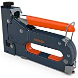 Presch Handtacker Set TÜV GS geprüft - Tacker mit 600 tlg. Klammern-Sortiment für Holz, Stoff, Möbel und Dachpappe - Profi Werkzeug