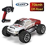 s-idee 18108 A979-B RC Auto Buggy Monstertruck 1:18 Truck mit 2,4 GHz 70 km/h schnell WL