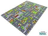 Stadt Mix HEVO Strassen Spielteppich | Kinderteppich 145x200 cm